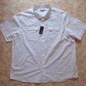 Рубашка мужск. 58-60 с кор. рукавом белая