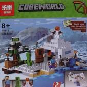 Конструктор Minecraft 18018 (333 дет.)