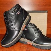 Norman кожаные мужские зимние ботинки