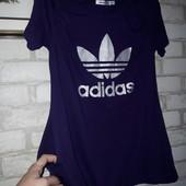 Adidas Туника с кармашками Хлопок р 34