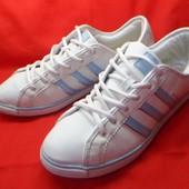 Adidas  кожаные оригинальные кроссовки 40