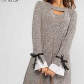 Платье свободный силуэт 3 цвета р-ры 44-50