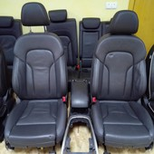 Кожаный салон  audi q5 s line comfort
