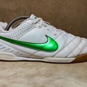 Кроссовки для зала Nike Tiempo футзалки. Индонезия. Оригинал. 38 р./ 24 см.