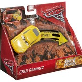 Машинка Круз Рамирез тачки Cruz Ramirez crazy crashers mattel cars оригинал