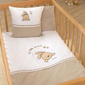 Набор постельного белья Little Friend (3 предмета) Funna Baby 5803 Турция коричнево-белый 12126047