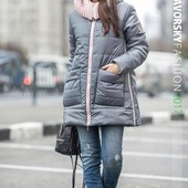 22П10170 Женская куртка с карманами '' Санта '' (42-50 р)