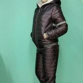 3П165 Женский зимний костюм versace (42-48 р)