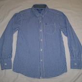 голубая рубашка Rebel 10 -11 лет, 146 см 100% котон