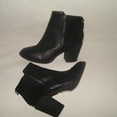 37.5-38 р./24 cм. фирменные демисезонные ботинки/челси H@M