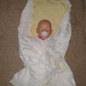 Одеяло конверт для малыша .Р.87*87
