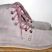 ботинки замшевые 25.5 см