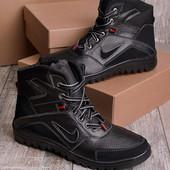 Зимние мужские спортивные ботинки на меху
