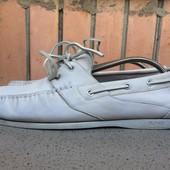 Кожаные топсайдеры Hugo Boss оригинал туфли