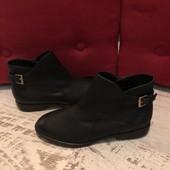 Ботинки із натуральної шкіри,від San Marina,розмір 37,устілка 23,5
