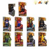 Супергерои marvel мстители Черная Пантера, Халк, человек Паук, Бетмен