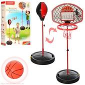 Спортивный набор 2 в 1 Баскетбол и Бокс на стойке М 2996