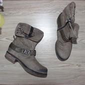 37 24см graceland деми ботинки на низком ходу широкая холявка