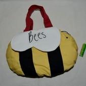 Сумочка сумка мягкая пчелка для маленьких принцесс