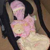Конверт в автокресло, люльку BabyFehn мягкий, идеальное сост, для близняшек
