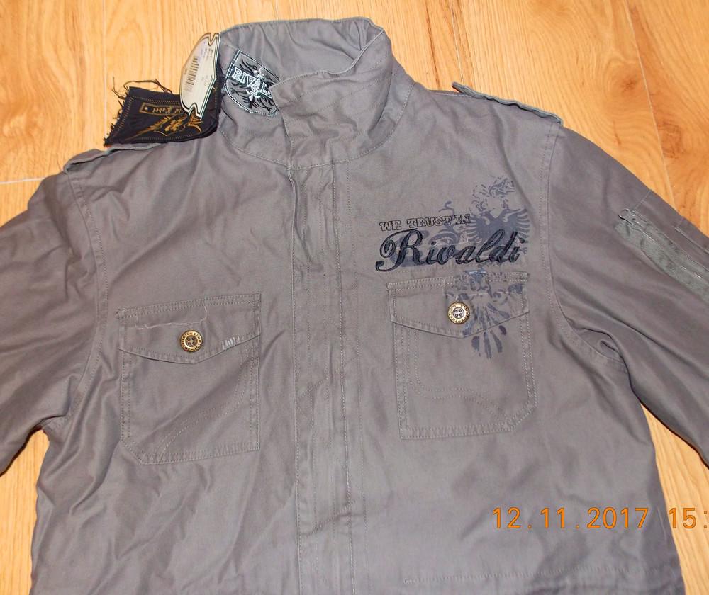 Новая демисезонная куртка rivaldi для мужчины. размер xl фото №2