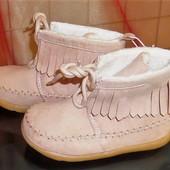 23 Бомбезные ботиночки  H&M розовый жемчуг