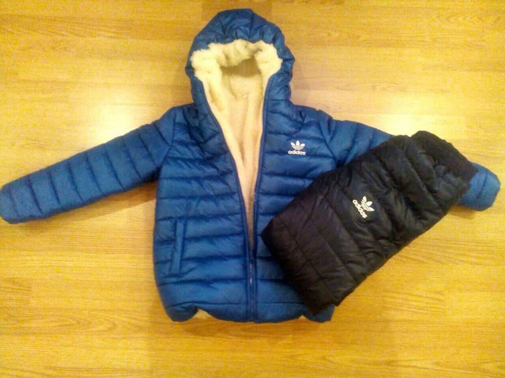 Зимний костюм adidas р 104-140 качество супер фото №1