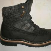 Кожаные зимние ботинки Landrover 40 размер