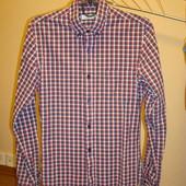 Рубашка хлопковая в клеточку 11-13 лет  Topman