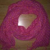 Красивый широкий шарф
