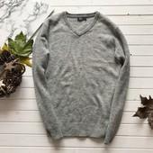 Крутой мужской свитер 100% шерсть F&F рр L