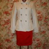 Пиджак\куртка белая р.10-12  Atmosphere