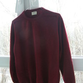 William Lockie свитер 100% шерсть L-размер