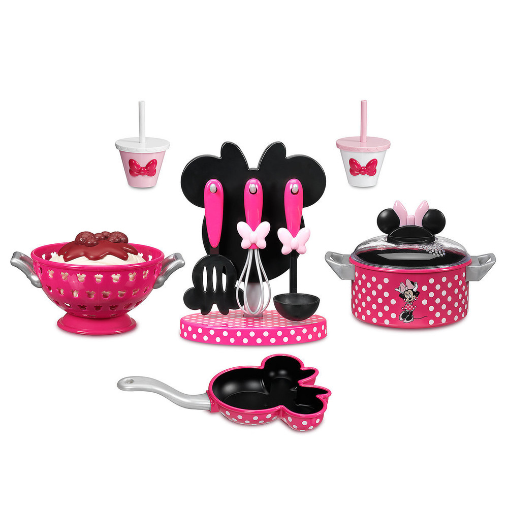 В наличии! набор посуды minnie mouse disney оригинал сша фото №1
