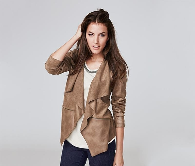 Шикарная куртка-кардиган жакет от тсм Tchibo Германия размер 46 евро фото №1