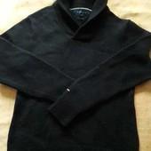 Тёплый шерстяной свитер Tommy Hilfiger р.46L
