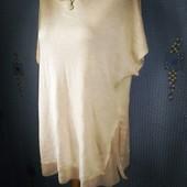 Новая кофта блуза обманка warehouse oversize