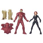 Набор марвел Железный человек и Черная вдова marvel Iron man Black Widow civil war