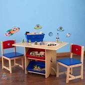 Столик с ящиками и 2 стульчика KidKraft 26912 Star