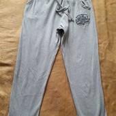 Лёгкие спортивные штаны фирменные Lonsdale р.48L