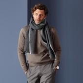 Теплый кашемировый шарф Тchibo Германия, размер 200*40 см