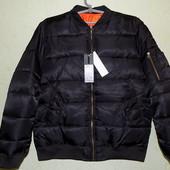Лётная куртка, бомбер, тёплая отличное качество!