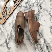 Закрытые кожаные туфли Clarks рр 40