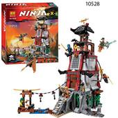 конструктор Бела Нинзя 10528 Bela Ninja Осада маяка набор нинзяго Ninjago