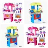 Кухня детская 008 игровой набор с посудой Kitchen Little Chef