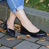 Новинка туфли натуральная замша / кожа код ЛЛ 28106