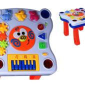 Интерактивный игровой многофункциональный столик Learning Table 668-62