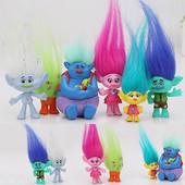Игрушки Тролли (Trolls) - набор фигурок - принцесса Розочка и другие