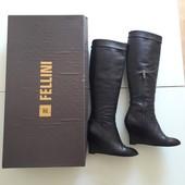 Сапоги Fellini оригинал Италия натуральная кожа Новая коллекция Будьте стильными!