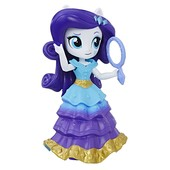 Кукла мини пони Рарити с 3 нарядами my little pony minis Rarity